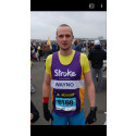 Royal Mail manager tackles London Marathon for the Stroke Association