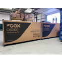 Cox Powertrain celebrates as first 300hp diesel outboards roll off the production line ready for delivery