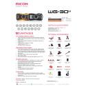 Ricoh WG-30W datablad