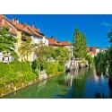 Nyt slambehandlingsanlæg i Sloveniens hovedstad optimerer renseanlæggets energiforbrug