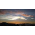 Perlemorskyer sett fra NILU på Kjeller, desember 2014 (arkivfoto)