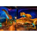 Inbjudan till pressvisning av Dinosaurs The Exhibition, Skellefteå