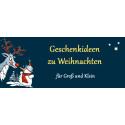 Geschenkideen zu Weihnachten für Groß und Klein