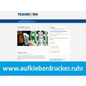Teamwork Printmanagement: mit .ruhr im Ruhrgebiet sichtbarer sein