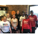 Birmingham runners mark Cross City Heroes win
