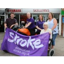Worcester resident is embarking on a 2,600 mile motorcycle trip to raise funds for the Stroke Association