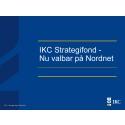 IKC Strategifond - Nu valbar hos Nordnet