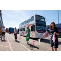 OXFORD BUS COMPANY LAUNCH BRAND THE BUS COMPETITION WINNING DOUBLE-DECKER