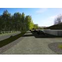 Den första sanna bilden av Järva begravningsplats