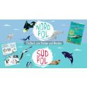 Nordpol - Südpol: Ein Buch zum Drehen und Wenden