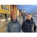 Overvåker Bryggen i Bergen