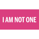 I Am Not One, 8.5-14.6, Bonniers Konsthall