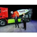 Thomas Concrete Group köper Sveriges första serietillverkade 100 % eldrivna betongbil