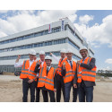 """ZÜBLIN and Leoni celebrate topping-out ceremony for """"Factory of the Future"""""""