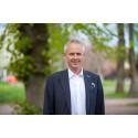 Fredrik Hansson (C) träder in som kommunstyrelsens ordförande