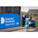 Digital Scotland Superfast Broadband is Up your Street in Inverkeilor