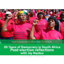 Frokostmøte: 20 Years of Democracy in South Africa - Post-election reflections with Jay Naidoo