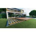 Nytt kilesystem til terrasser gjør det enklere å være handyman