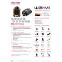 Ricoh WG-1M action-kamera specifikationer