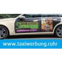 Hingucker auf den Straßen des Reviers - taxiwerbung.ruhr