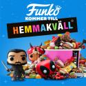 Hemmakväll lanserar FUNKOs popkulturprodukter!