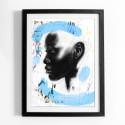 Cleo Kinnaman skapar personligt konstverk till WaterAids julkampanj