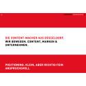 Facelift:   Neuer Auftritt der Düsseldorfer Agentur Impressions