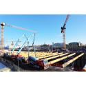 Först med klimatförbättrad betong, nu med en anläggningsbetong som ger 50% lägre klimatavtryck