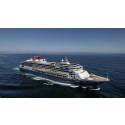 Nytt kryssningsfartyg i Trelleborgs Hamn den 18 september