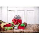 En av fire dropper gaver til dem som bor langt unna
