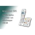 Amplidect 595 - trådlös telefon med foto- och sifferknappar
