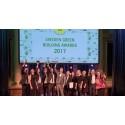Innovativa lösningar, miljöhjältar och extraordinära byggnader prisade på Sweden Green Building Awards 2017