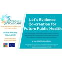 Co-creation – A Novel Methodology to Address  Complex Public Health Problems