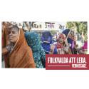 Folkvalda att leda – en fotoutställning om kvinnor och demokrati på Etnografiska