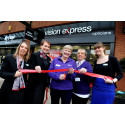 ​Formby Stroke Survivor Officially Opens Vision Express Store
