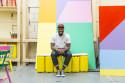 Yinka Ilori, formgivare dialogyta Afrika pågår