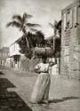 Gatubild från Gustavia, 1865