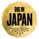 Logo: Dig in Japan