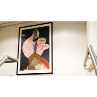 Creative collages on board the 'Esvagt Albert Betz'