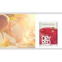 Namaqua Soft & Fruity Dry Red -hanapakkaus uudistuu