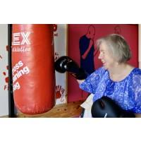 Äldreboxning  fortsätter i Jordbro
