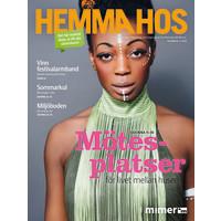 Hemma Hos nr 2/2018 -  ett somrigt nummer för alla västeråsare