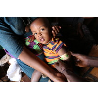 Rent vatten kan rädda miljoner barn från undernäring - visar ny rapport
