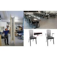 Den stapelbara stolen som når nya höjder.