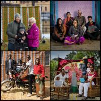 Bättre och bättre dag för dag - familjebilder visar hur världen blir bättre för varje generation