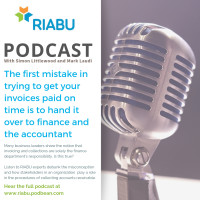The first mistake in trying to get your invoices paid on time is to hand it over to finance and the accountant