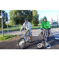 Cyklism och gångtrafik i fokus i Haninges nya trafiksäkerhetsprogram