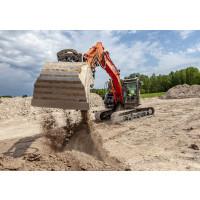Kraftig försäljningsökning av kompakta Hitachigrävare