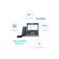 Smart av Telavox att tänka touch med Yealink T56A