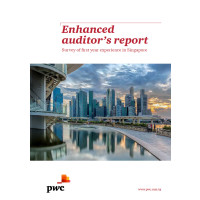 Auditor's reports in Singapore provide greater clarity in resolution of significant matters compared with Hong Kong and UK, finds PwC